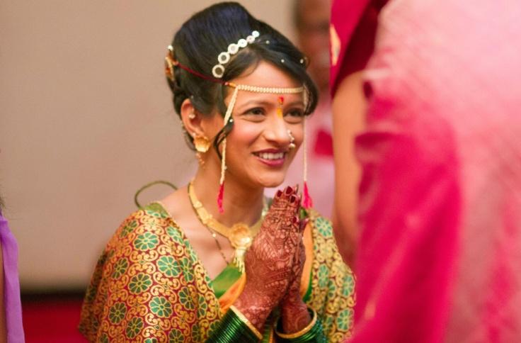 Marathi Bridal Hairstyle : Wedding planner bollywood marathi brides indian