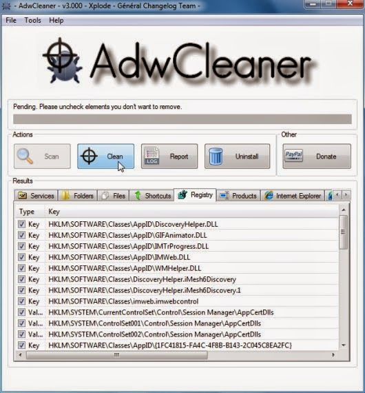 Come rimuovere Websearch.freesearches.info da pagina iniziale Firefox