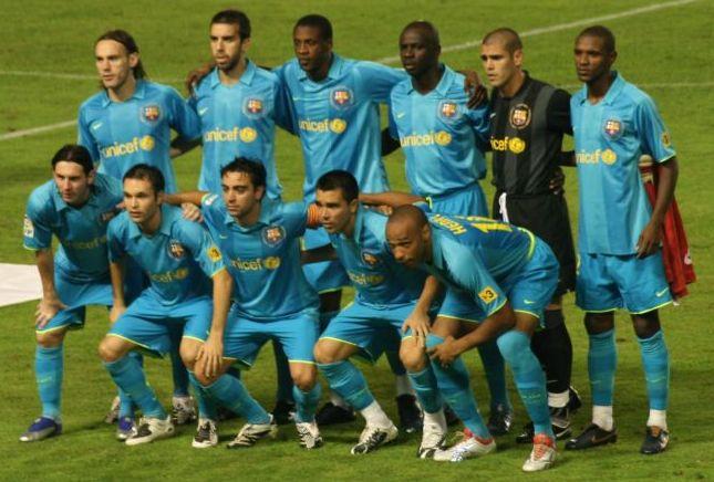 f c barcelona 2007:
