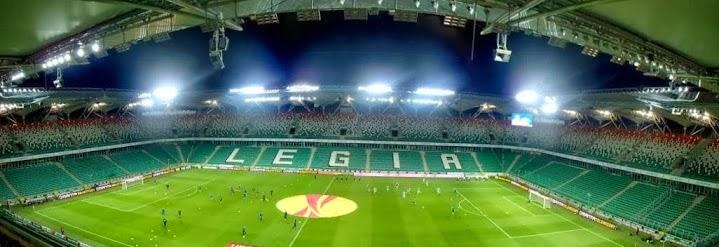 Stadion Legii w Warszawie - fot. Tomasz Janus / sportnaukowo.pl