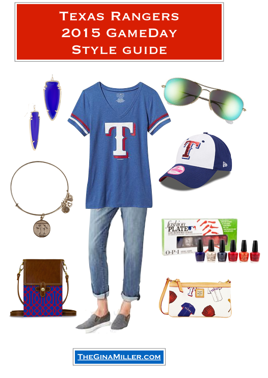 What to wear to a Rangers game, Texas Rangers Game day outfits
