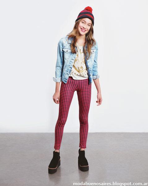 Como quieres que te quiera otoño invierno 2014 moda teen Argentina.