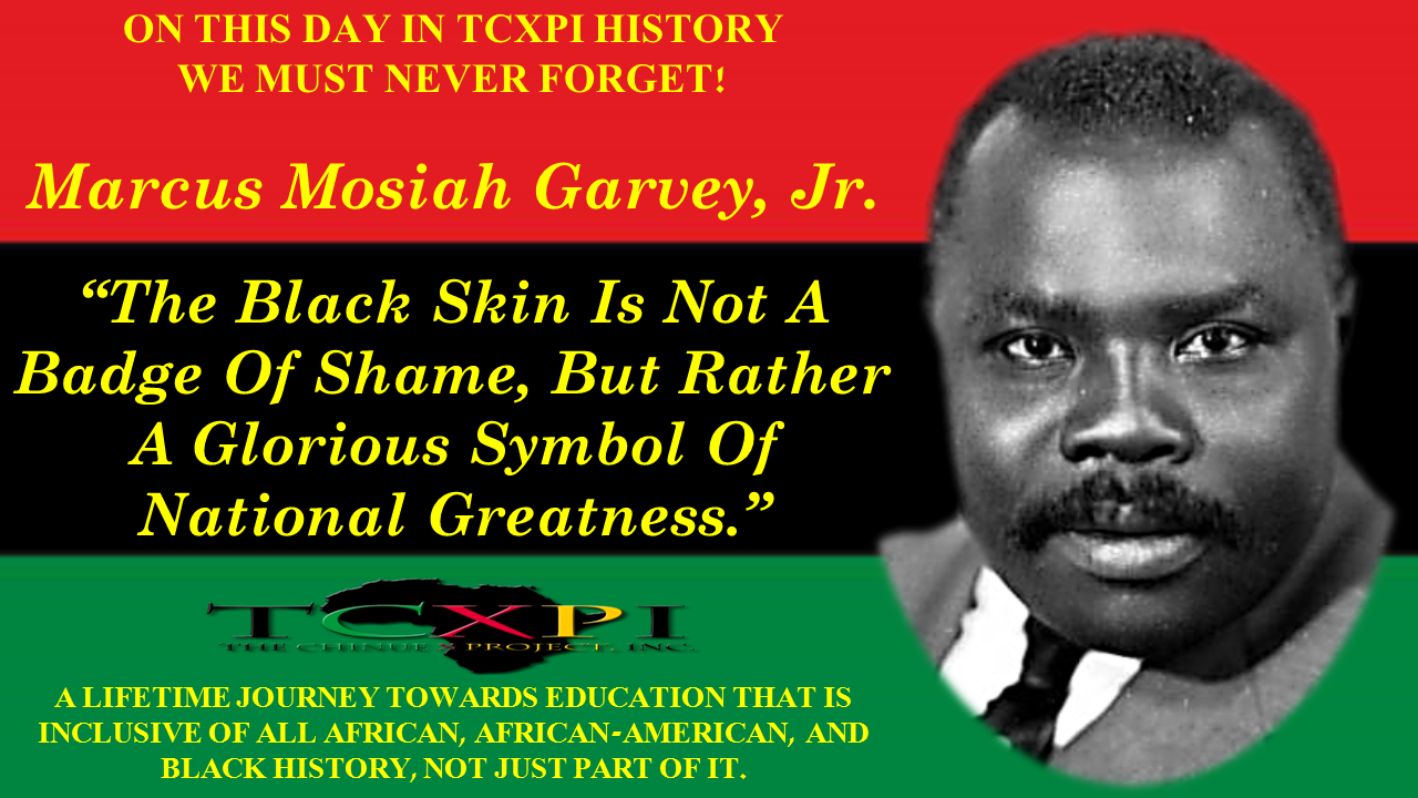 Marcus M. Garvey, Jr.
