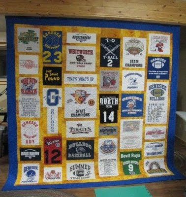 Quilting In The BunkHouse: T-Shirt Quilt Tutorial : interfacing for t shirt quilts - Adamdwight.com