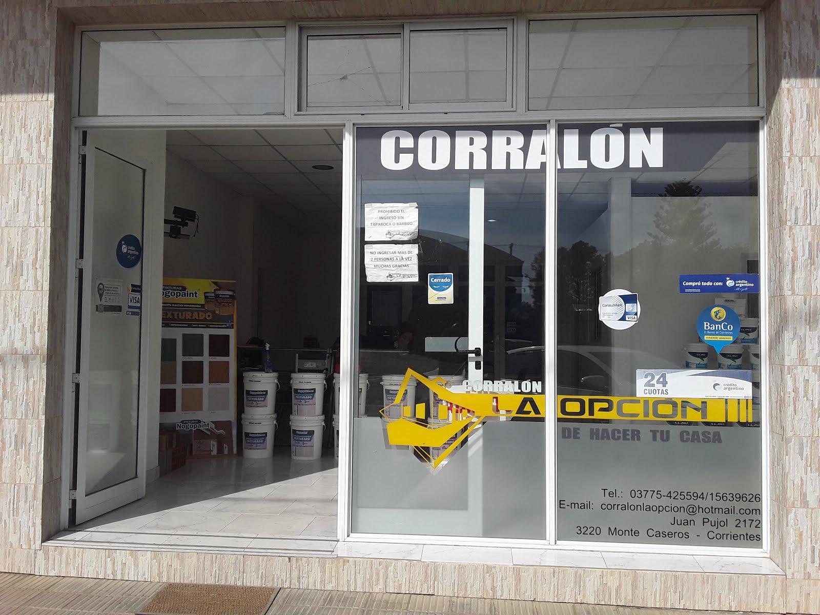 CORRALON LA OPCION