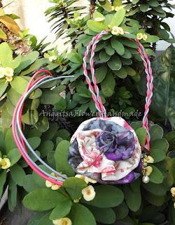 headband hijab, headband bunga