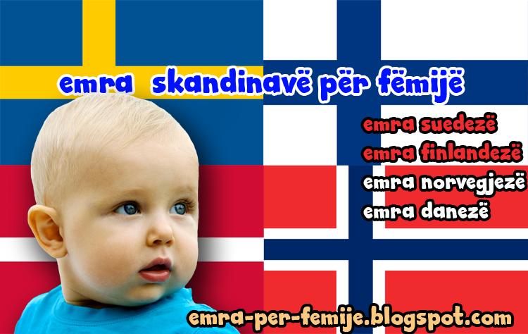 Emra skandinave per femije