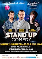 Stand-Up Comedy Bucuresti Sambata 23 Ianuarie