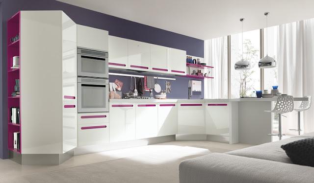 Cocinas con alegres y coloridos tiradores cocinas con estilo - Tiradores cocina modernos ...
