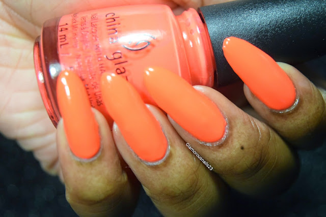 """China Glaze """"Red-y To Rave"""" Swatch"""