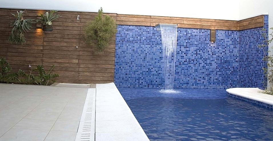Construindo minha casa clean piscinas pequenas e modernas for Ceramica para revestir paredes