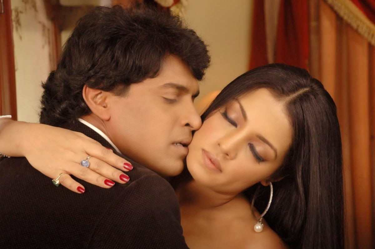 South indian kissing scene