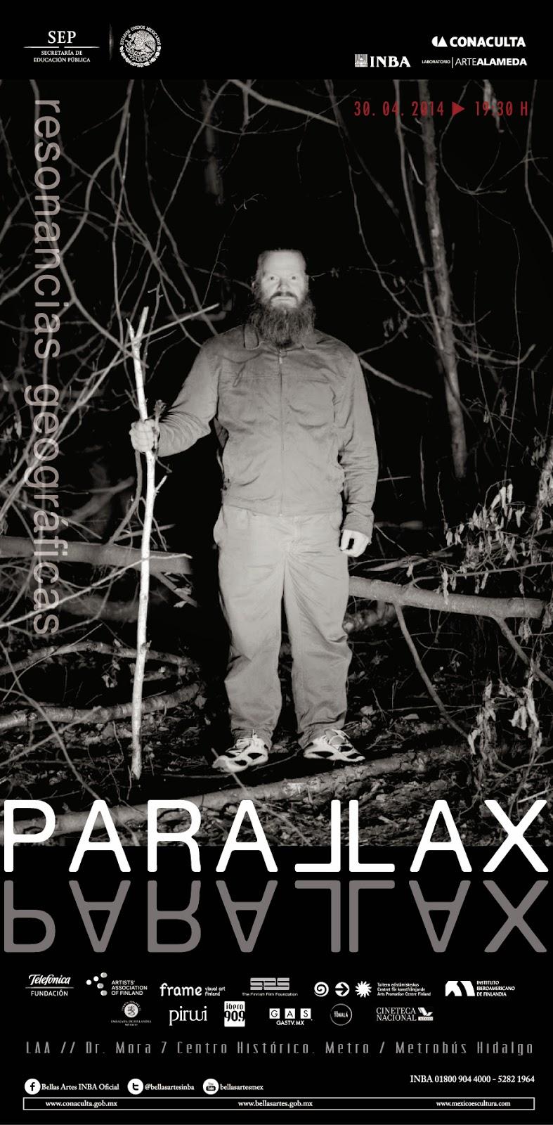 """Inauguración de """"Parallax - resonancias geográficas"""" en el Laboratorio Arte Alameda"""