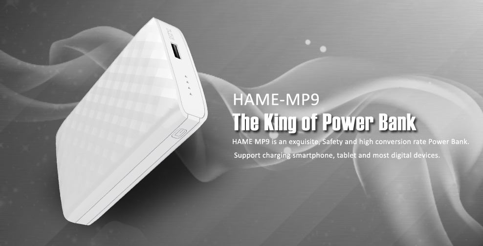 Spesifikasi Hame MP9 Power Bank 10000 mAh - MP9