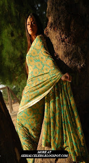 Simran in Green Saree HQ
