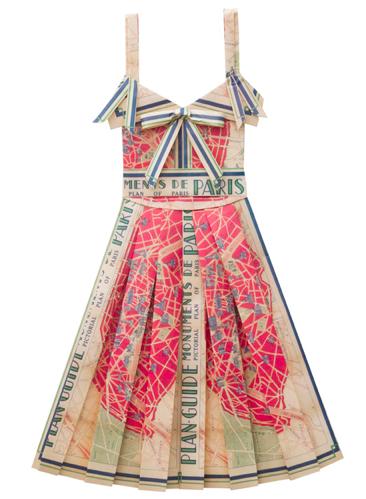 Paris Paper Dress on Annex