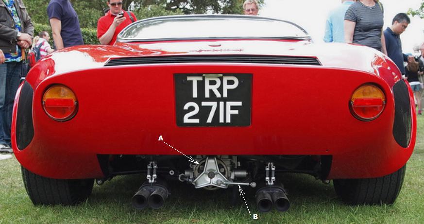 Colotti Question  Can you help     Alfa Romeo 33 Stradale Replica