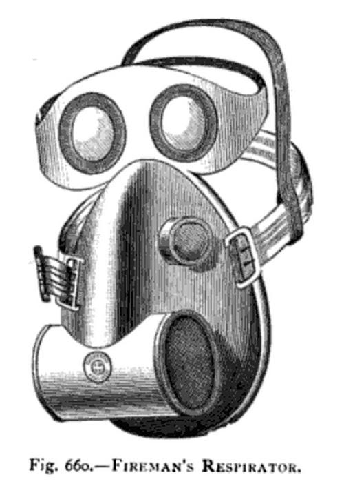 Fireman's respirator