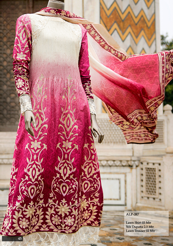 Almirah Summer Spring Lawn Dresses 2015 For Ladies Indian Fashion Dress Designer