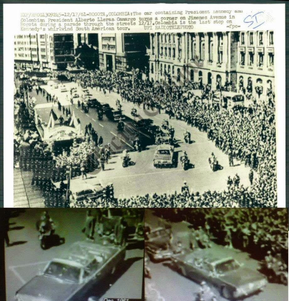 JFK bubbletop Bogota, Columbia 12/17/61