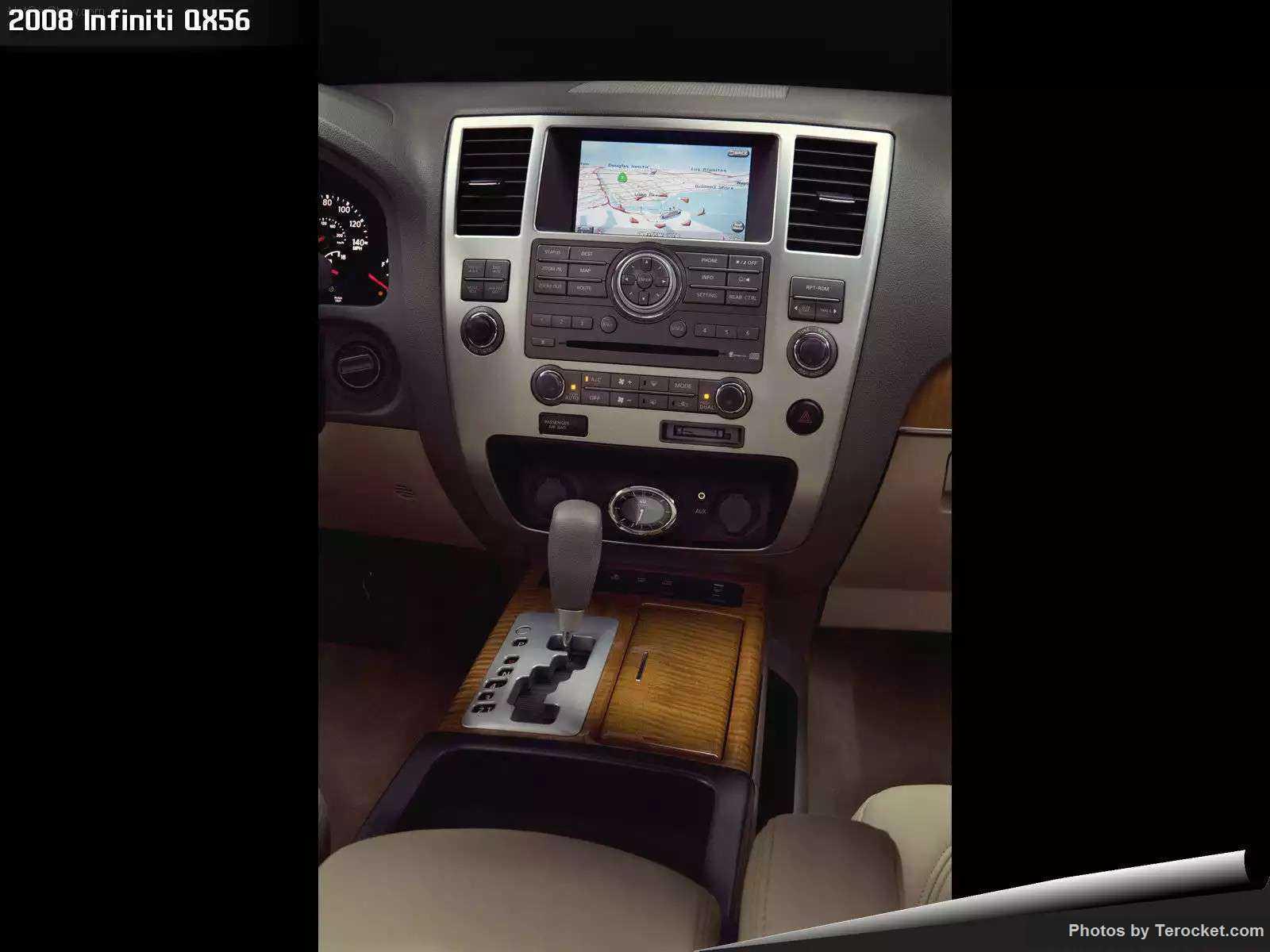 Hình ảnh xe ô tô Infiniti QX56 2008 & nội ngoại thất