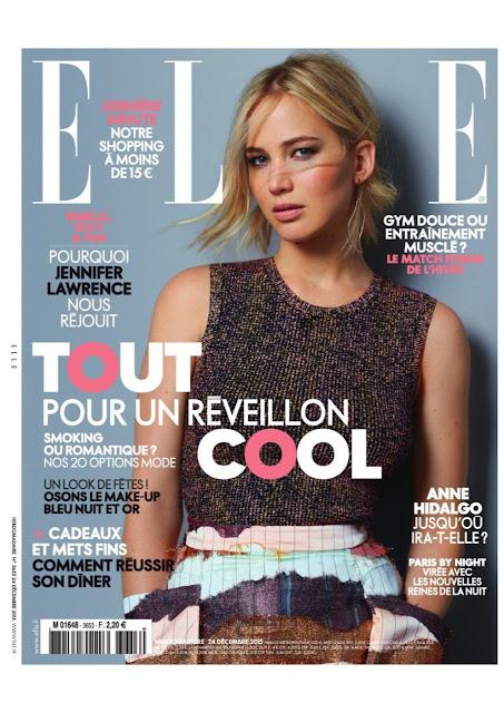Actress, @ Jennifer Lawrence - Elle France, December 2015