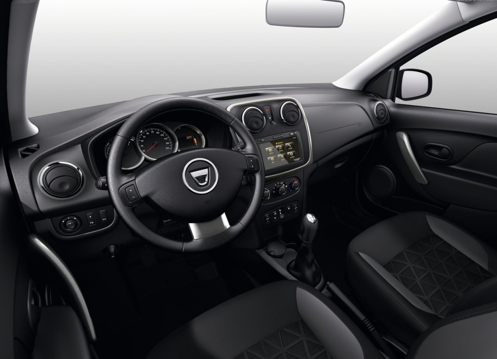 cockpit autom vel conte dos auto ensaio dacia sandero stepway 1 5 dci 90 cv fap. Black Bedroom Furniture Sets. Home Design Ideas