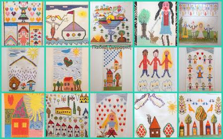Πίνακες από τη συλλογή: παιδική ζωγραφική