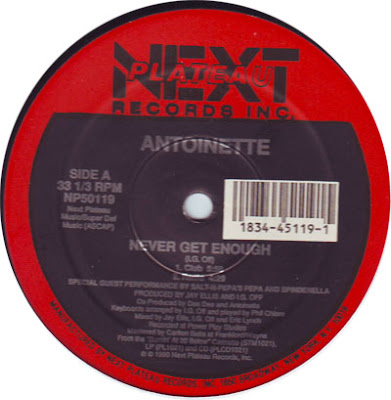 Antoinette ‎– Never Get Enough (VLS) (1990) (256 kbps)