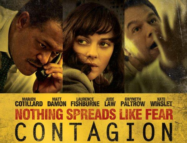 histoire de film contagion