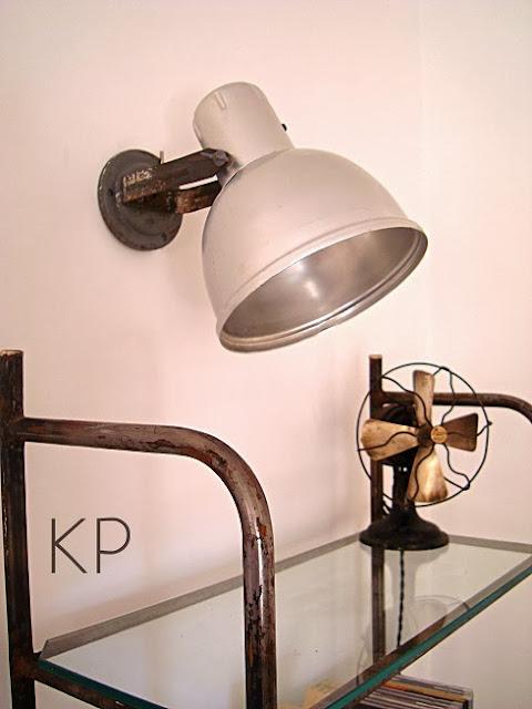 Venta de apliques estilo industrial, lámparas originales, decoración vintage