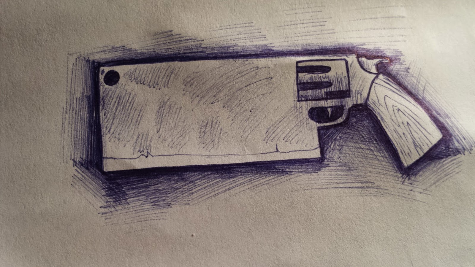 Gunblade Drawings and Designs 2