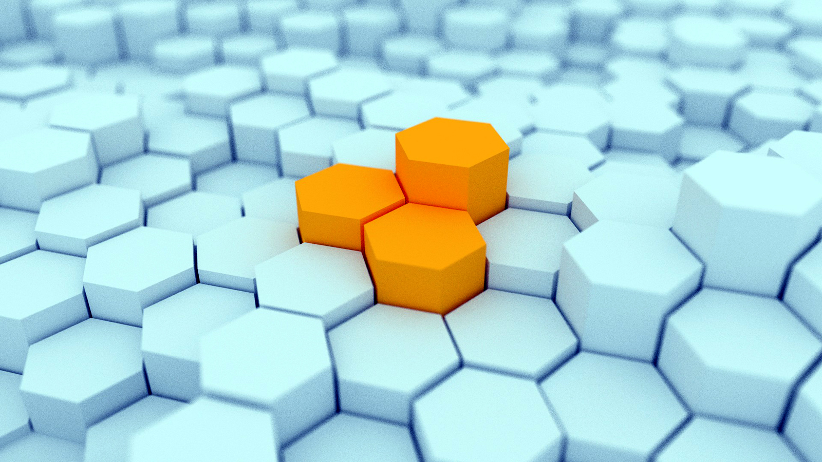 3d Hexagon Blocks Hd Wallpapers Desktop Wallpaper