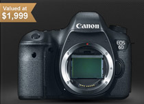 Canon 6D DSLR Worldwide Giveaway