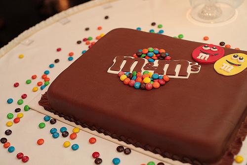 Cake Guru: Essential ingredients: M&Ms