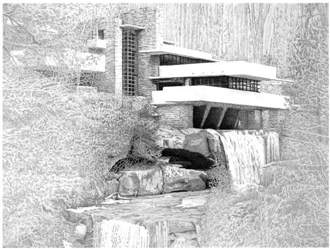 A moment of cerebus gerhard 39 s art - Maison sur la cascade ...