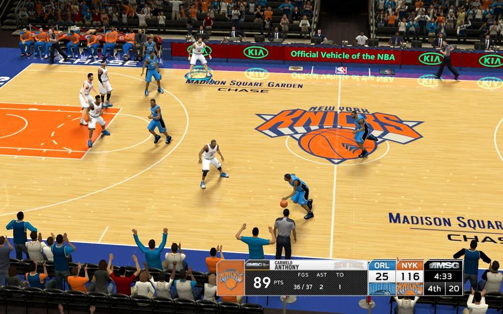 Madison Square Garden Scoreboard