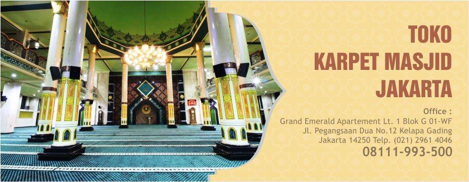 Pusat Karpet Masjid Minimalis Import Terlengkap Kualitas Premium