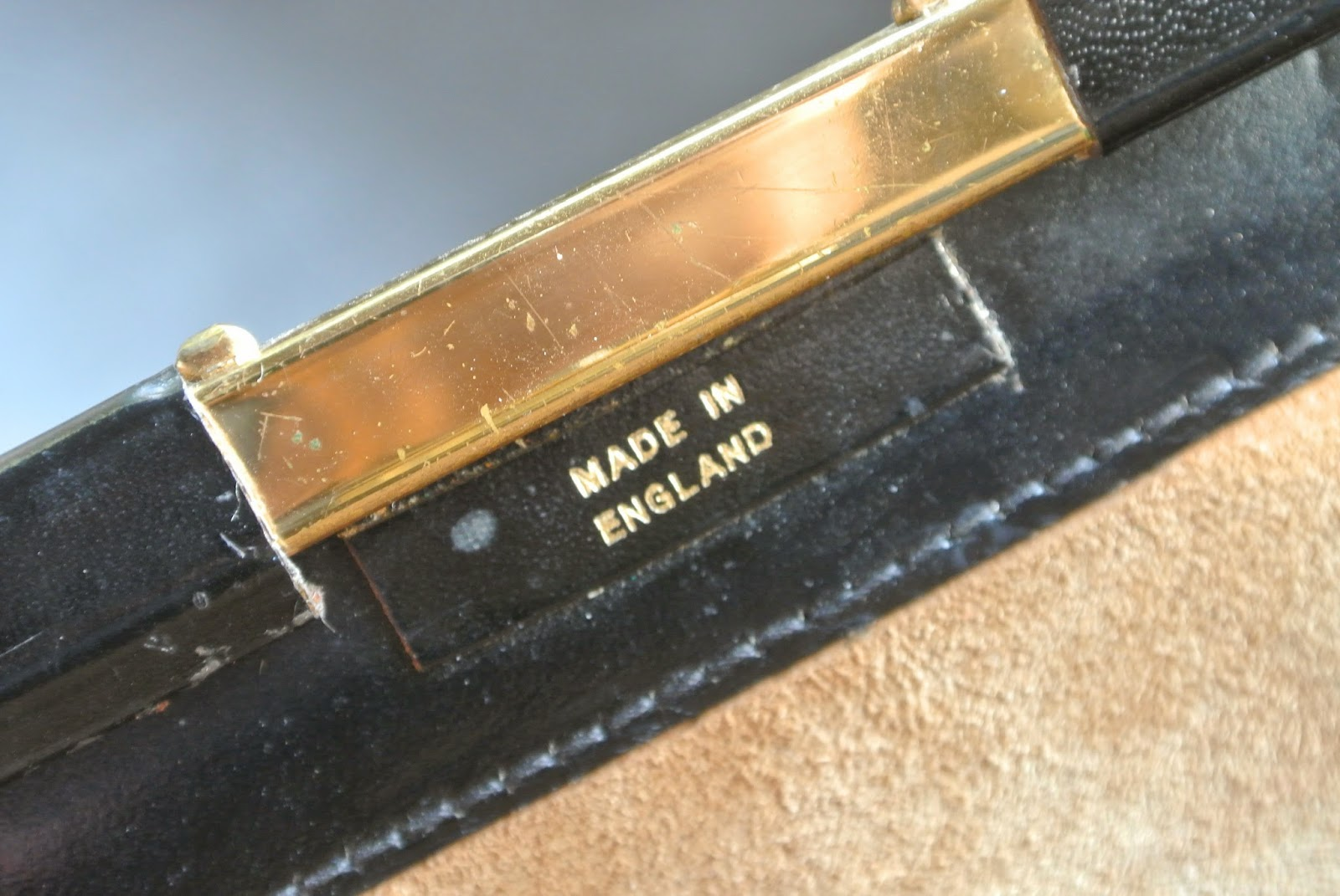 Made in England Label