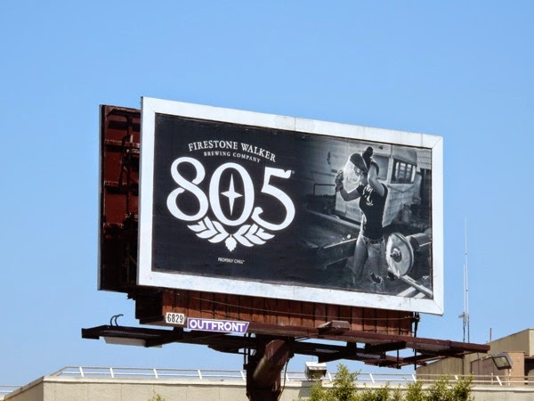 Firestone walker 805 beer welder billboard