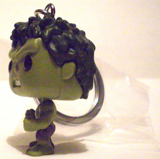 Left side of Hulk Pocket Pop Keychain