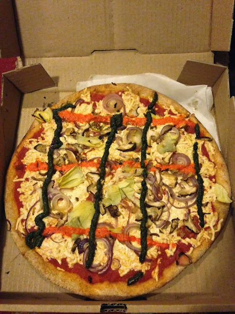 Vegan Pizza from Two Boots NYC