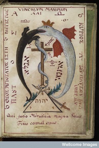 """El Acrónimo Jesuita """"I.H.S."""" en el Grimorio de San Cripriano De7bbe6faa4d3d3a737024f1fd51"""
