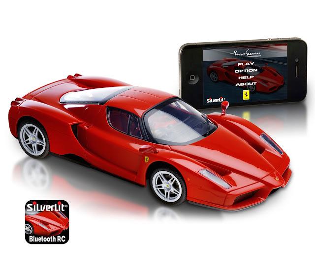 iStore - SilverLit app-enabled Ferrari