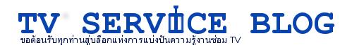 TV Service Blog
