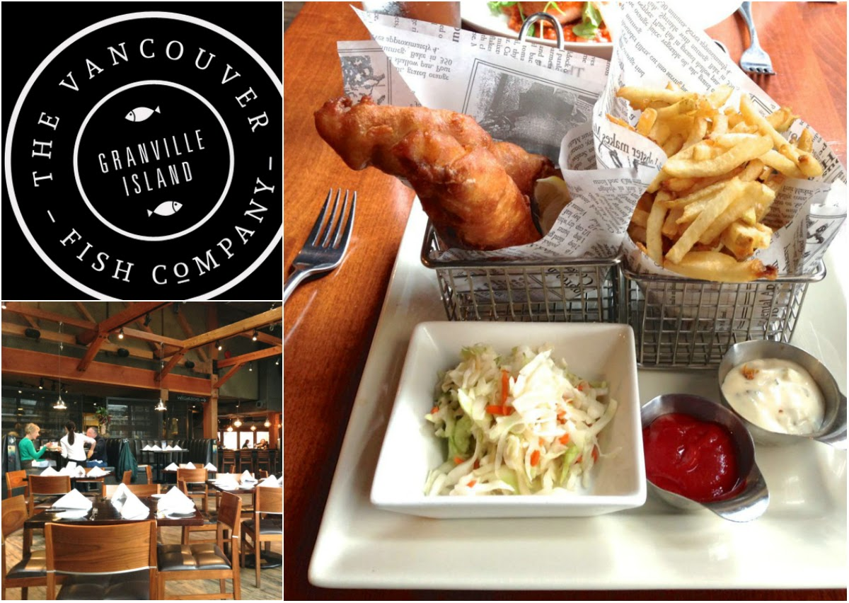 Vancouver Dine out 2015: The Vancouver Fish Company Restaurant Review