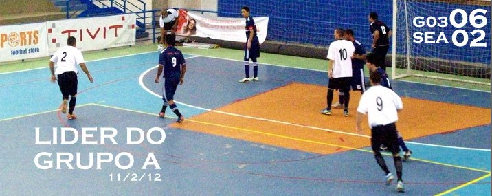 Grêmio 03 Futsal 06 x 02 SEAAC SJC