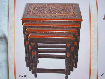 Wood Handicraft Elegant Furniture-011