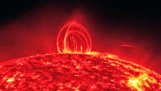 Matahari Ternyata Juga Ada Hujan Seperti Bumi