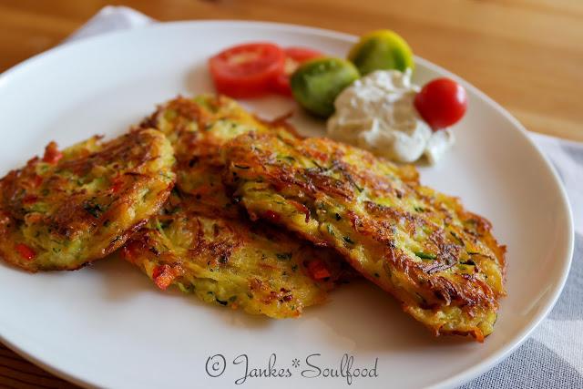 Gemüsepfannkuchen von Jankes Soulfood